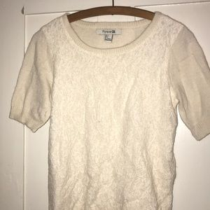 Forever 21 - cream sweater
